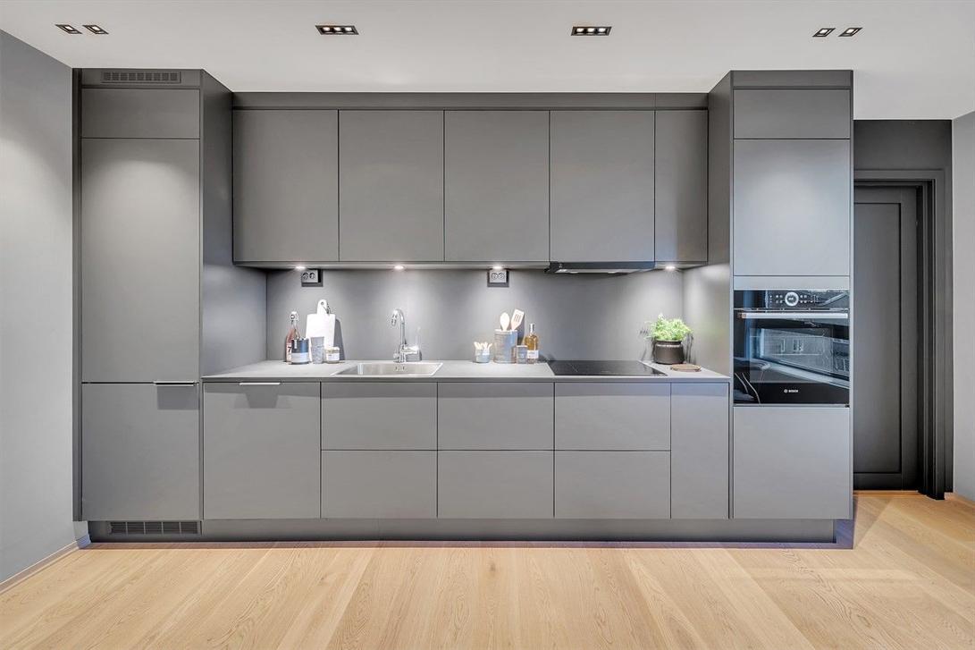 Kjøkkenbelysning i privat bolig