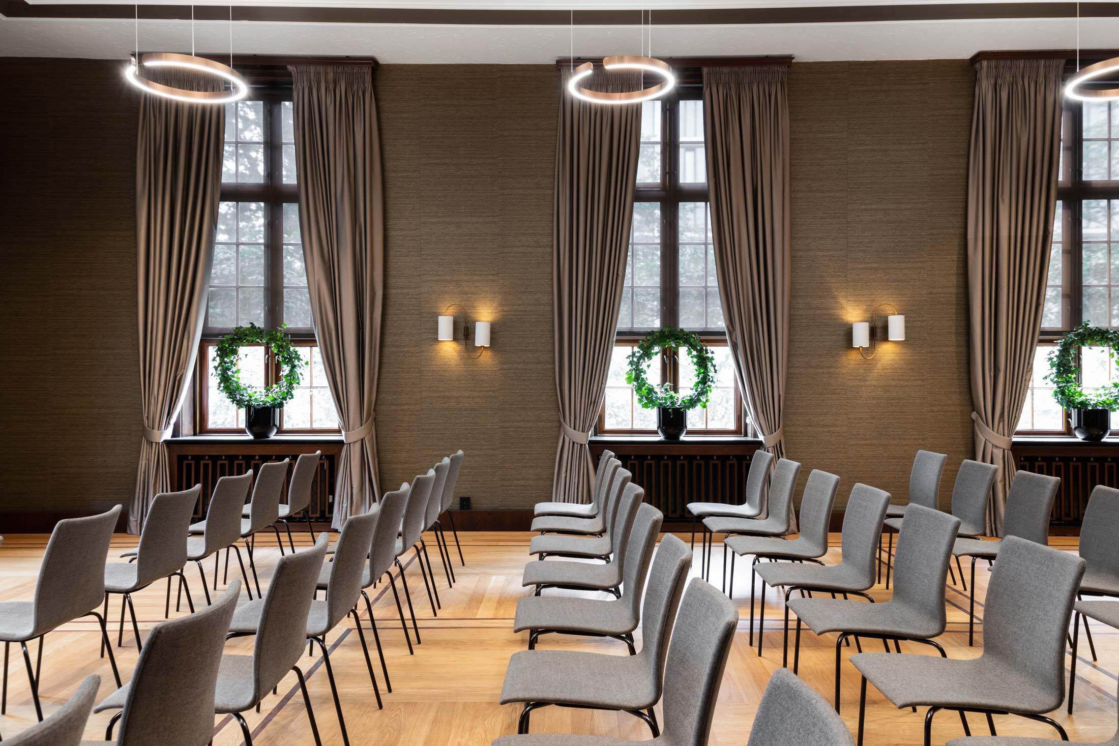 Møteromsbelysning hos Grand Bergen