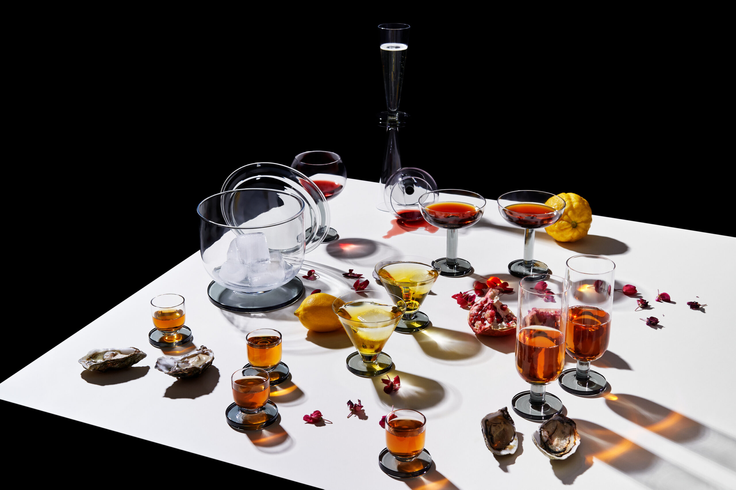 Puck glass fra Tom Dixon