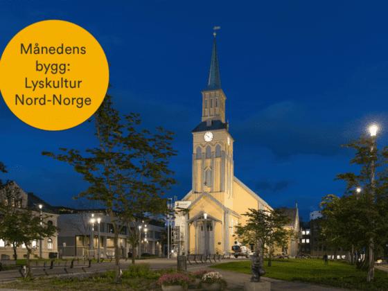 Storgata og Kirkeparken i Tromsø med håring til årets bygg: Lyskultur Nord-Norge