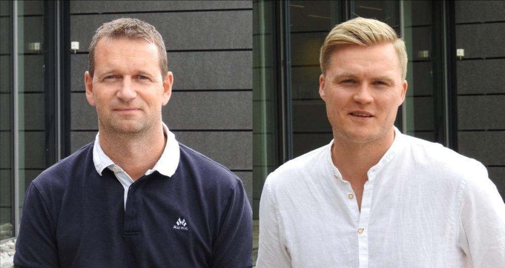 Kjell Erik Lundeby og Fredrik Skøyum