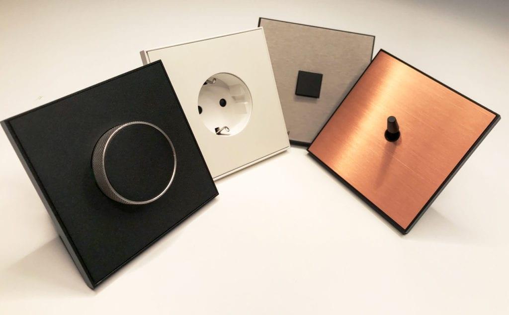 Design brytere og kontakt fra Lithoss