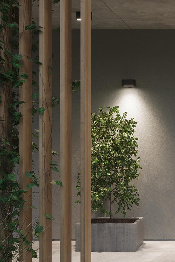 Pathfinder lamper i tak og på vegg fra Zero