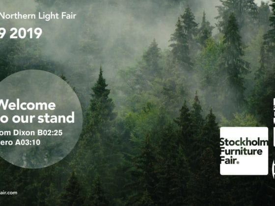 Banner for Stockholm Furniture & Light Fair