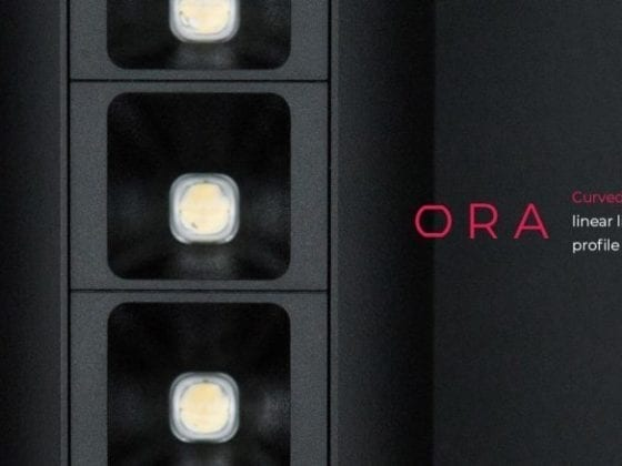 Banner for ORA - curved-edge linear lighting profile