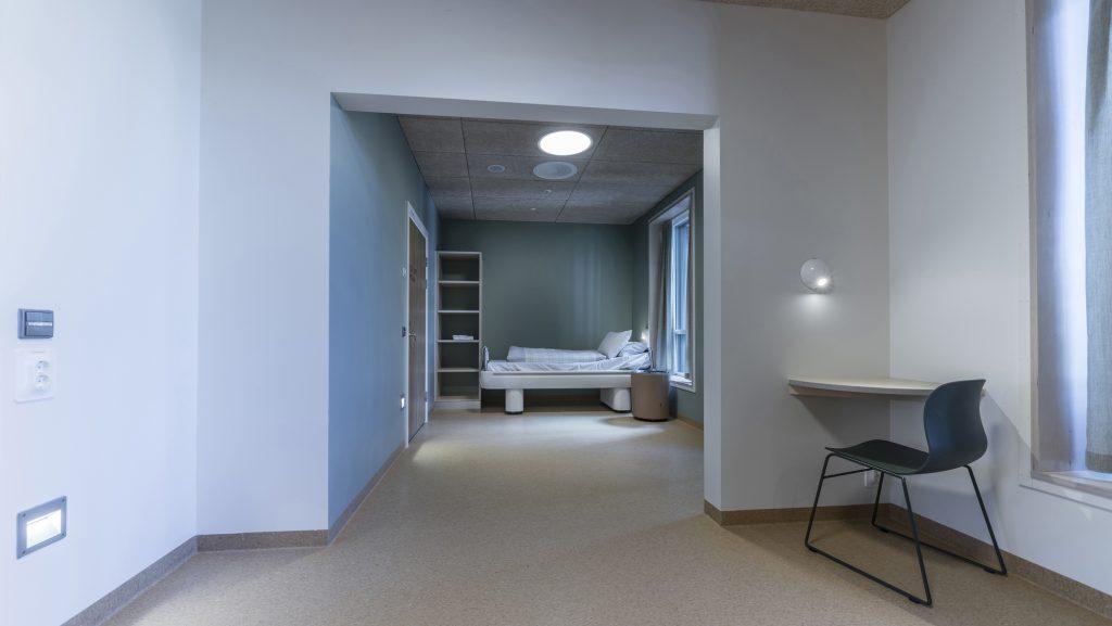 Belysning på sykehus