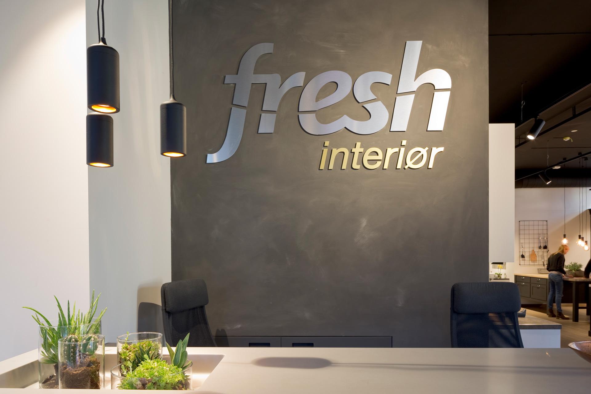 Fresh interiør logo