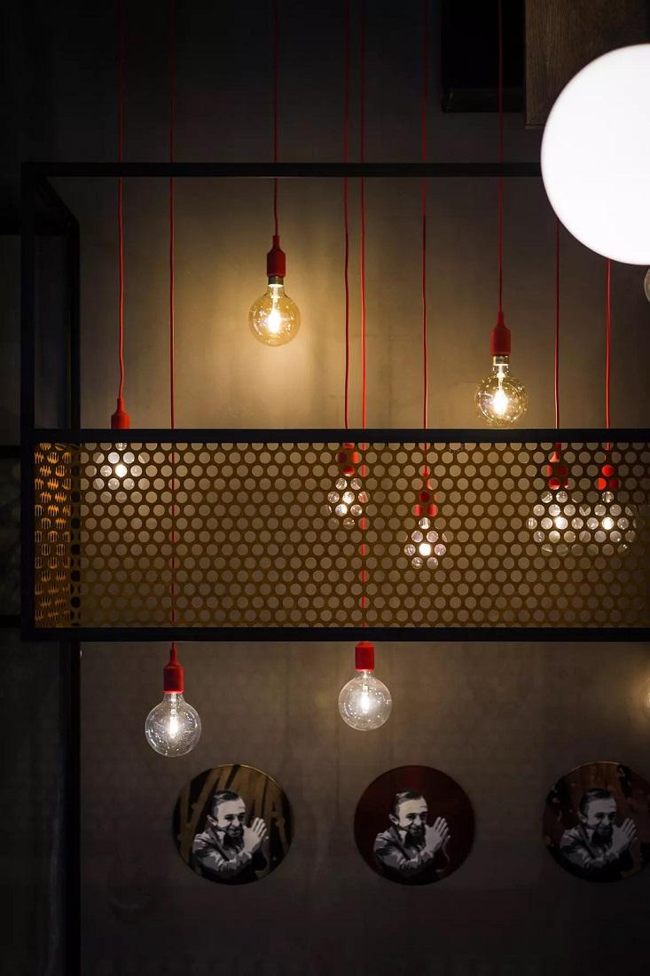 Belysning i bar