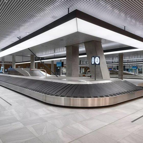 Belysning på Bergen Lufthavn