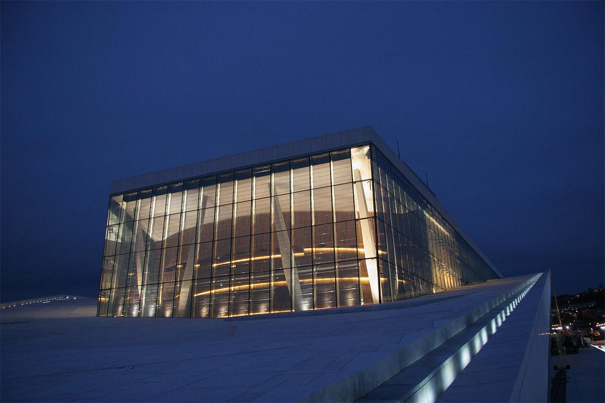 Operaen i Oslo fasade