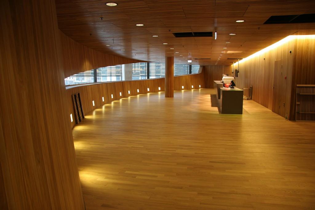 Belysning på Operahuset i Oslo