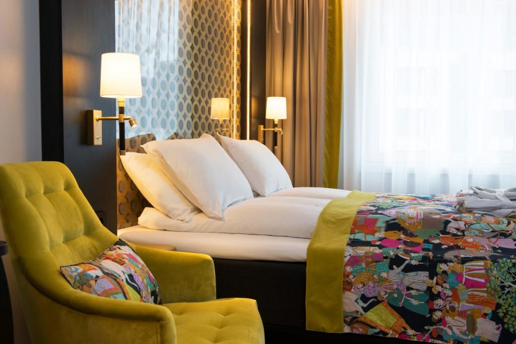 Belysning i hotellrom på Thon Hotell Rosenkrantz