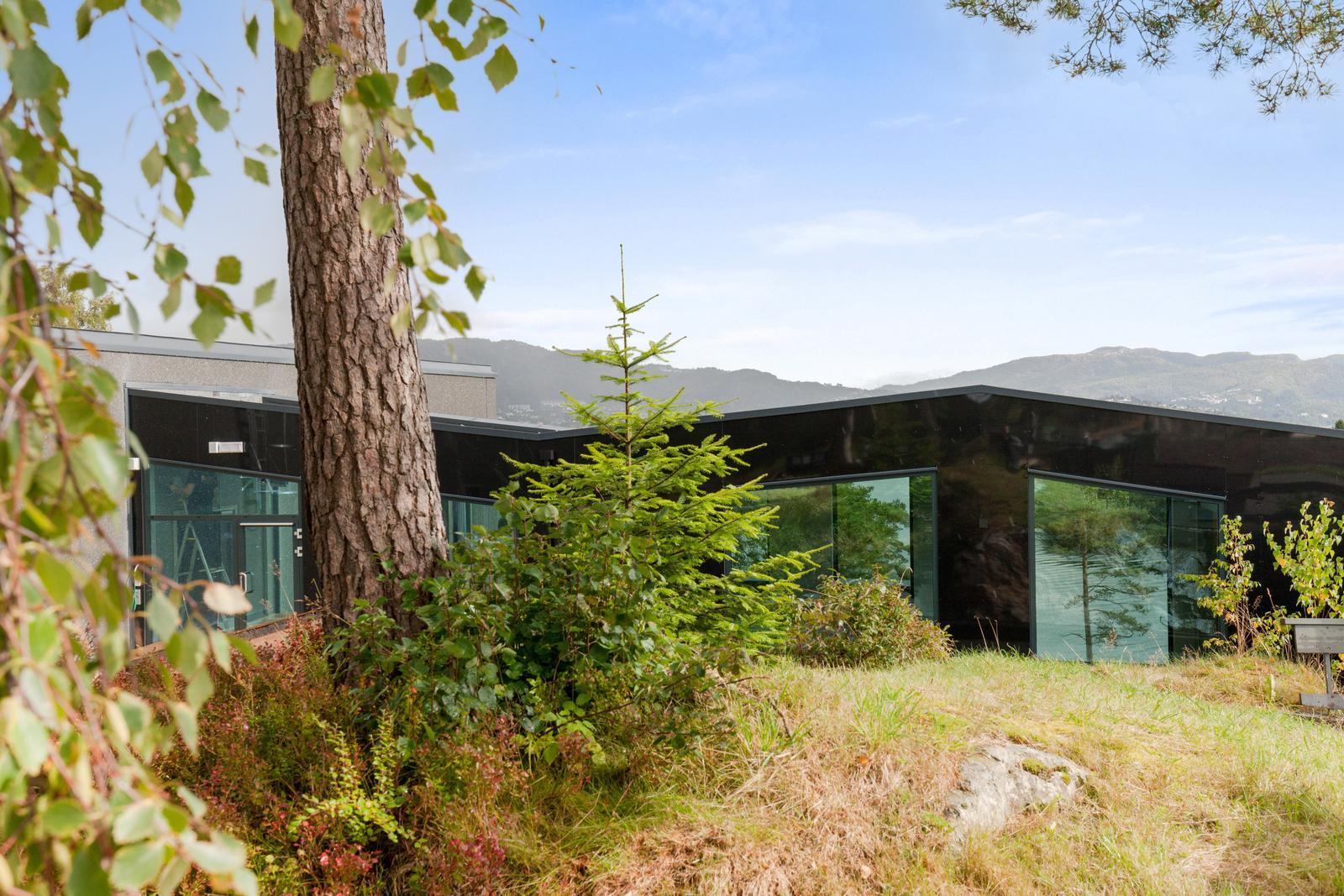 Helse Bergen Distriktspsykiatriske senter fasade