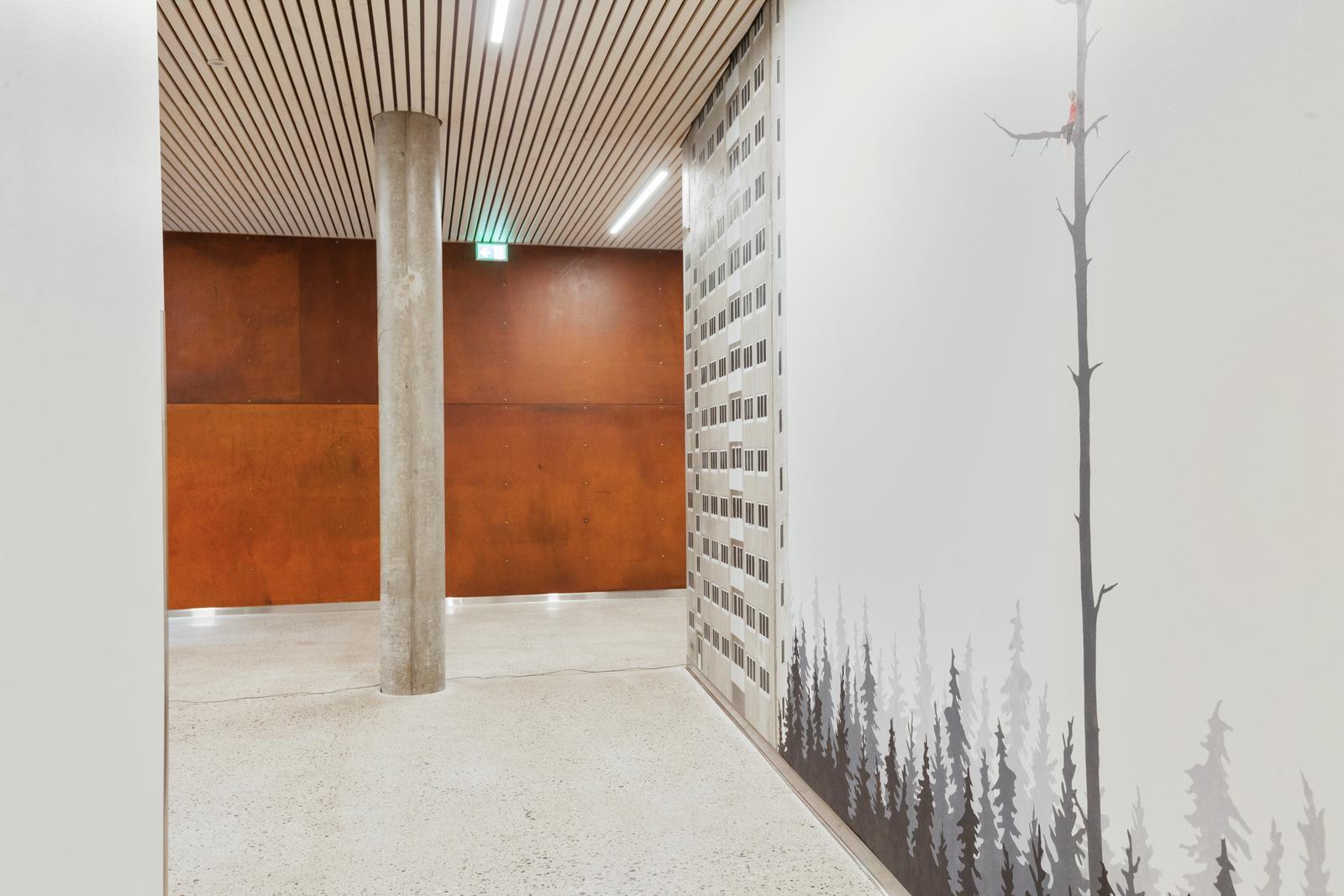 Belysning i gang hos Helse Bergen Distriktspsykiatriske senter