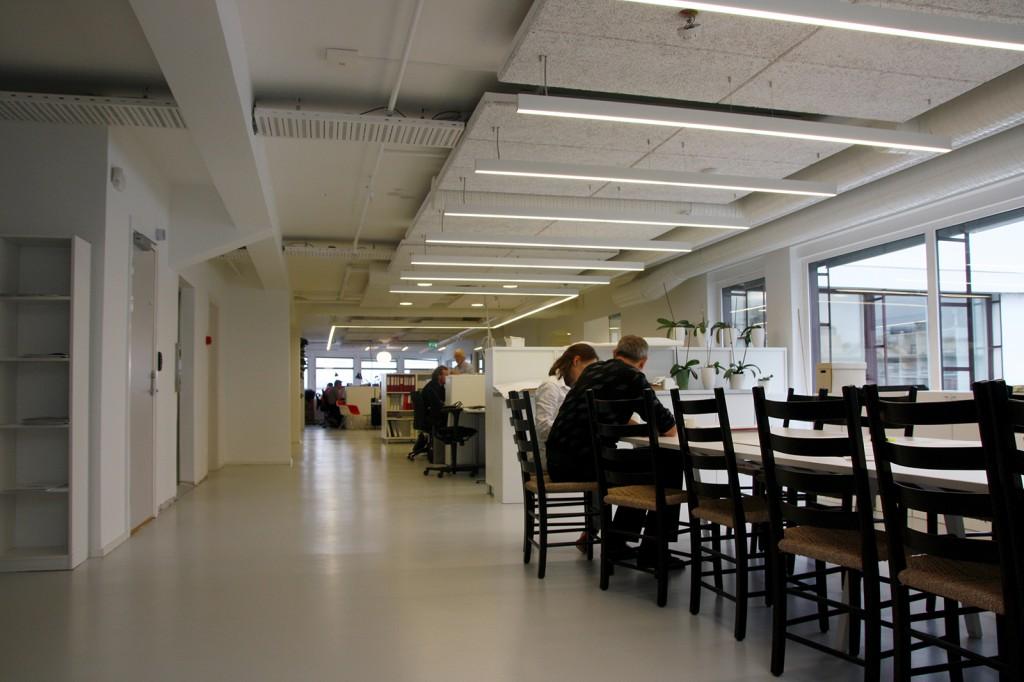 Kontorbelysning hos Asplan Viak