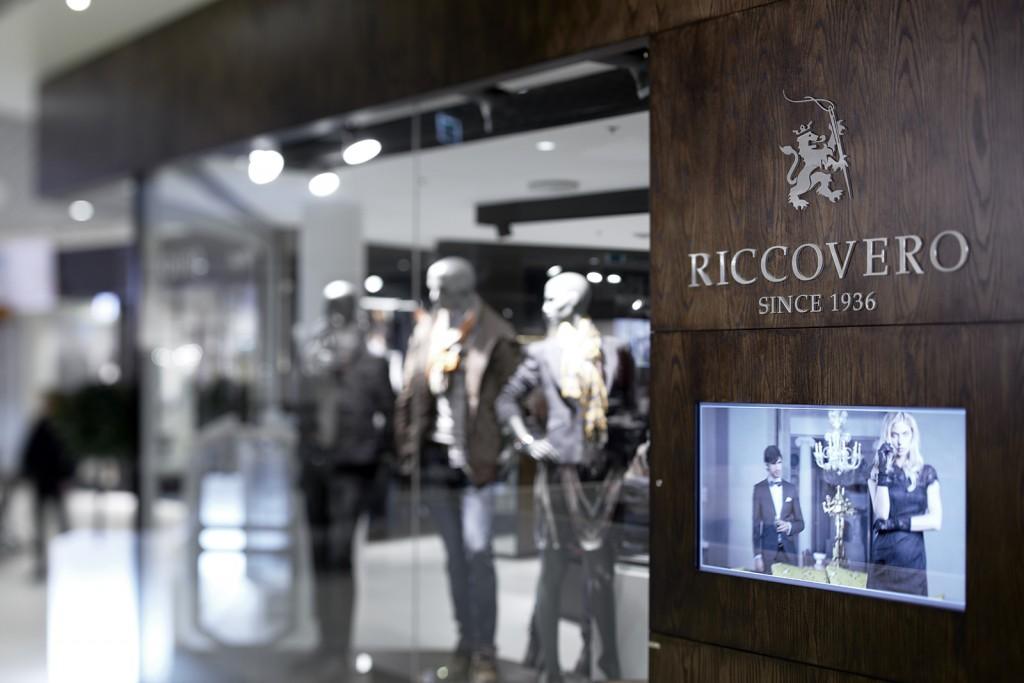 Butikkbelysning i Riccovero Conseptstore