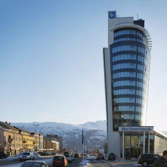 Rica Hotell Narvik fasade