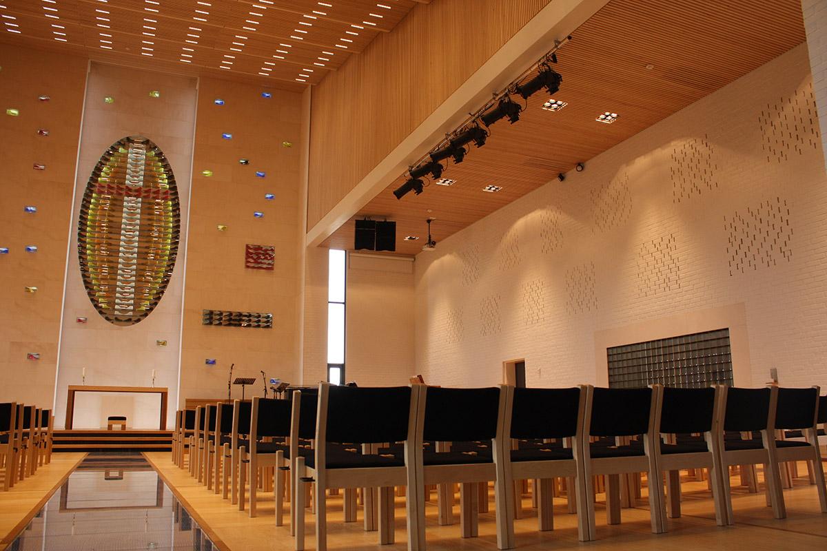 Belysning i Gulset kirke