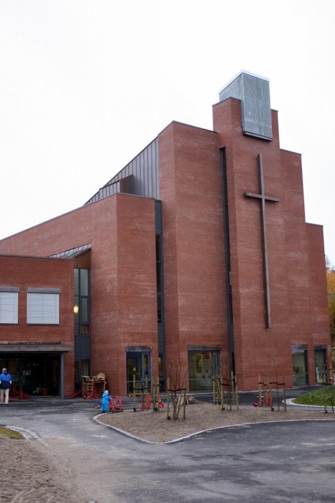 Gulset kirke fasade