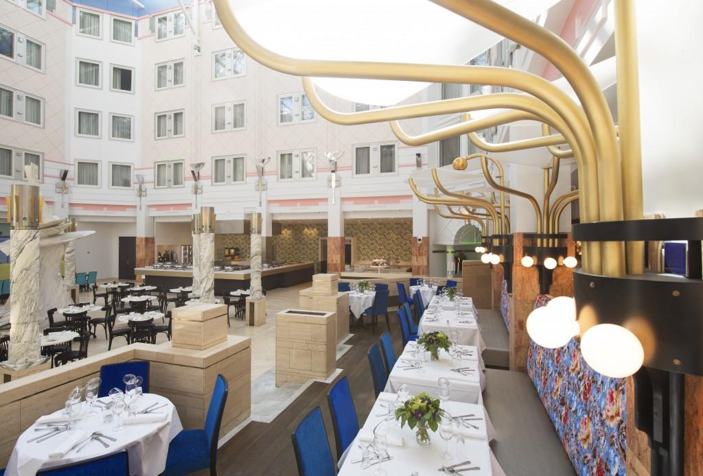 Restaurantbelysning på Thon Hotell Oslofjord
