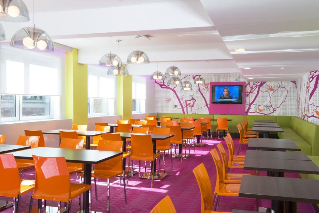 Restaurantbelysning på Thon Hotell Munch