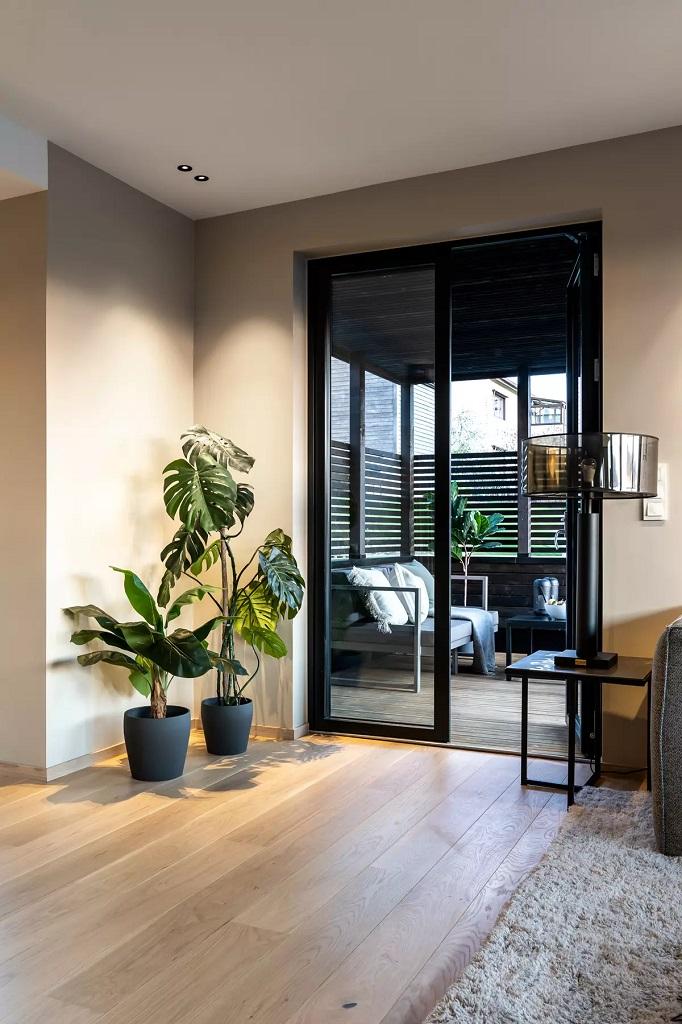 Stuebelysning i privatbolig