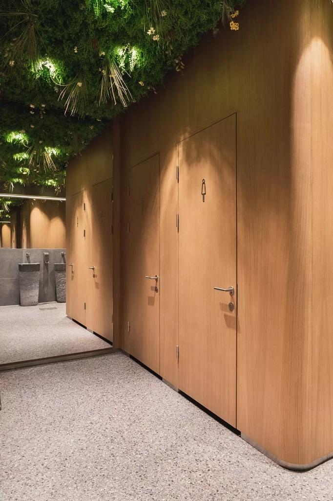 Belysning ved offentlig toaletter