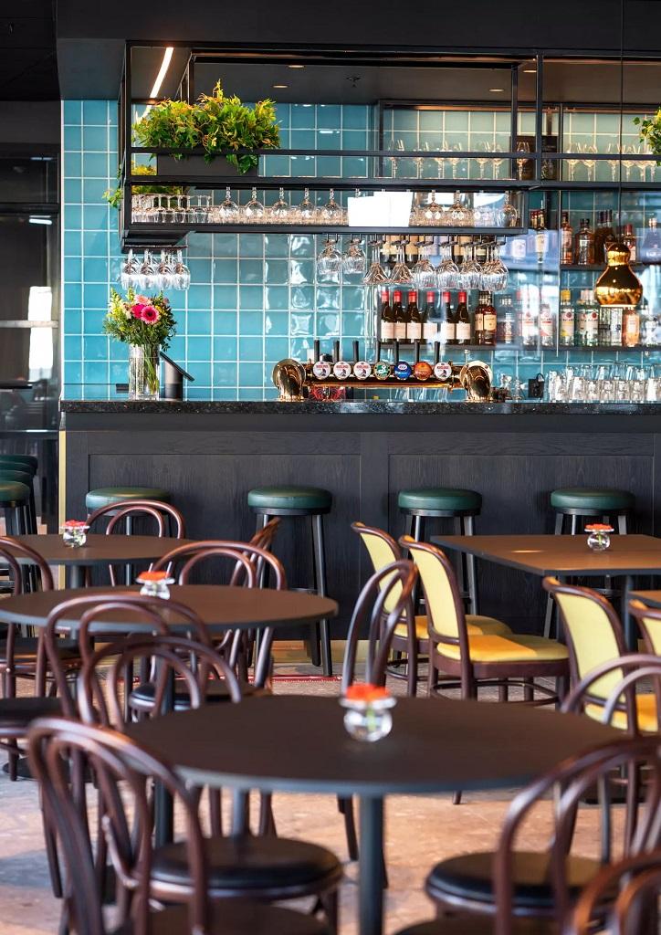 Restaurantbelysning hos Thon Hotel Harstad