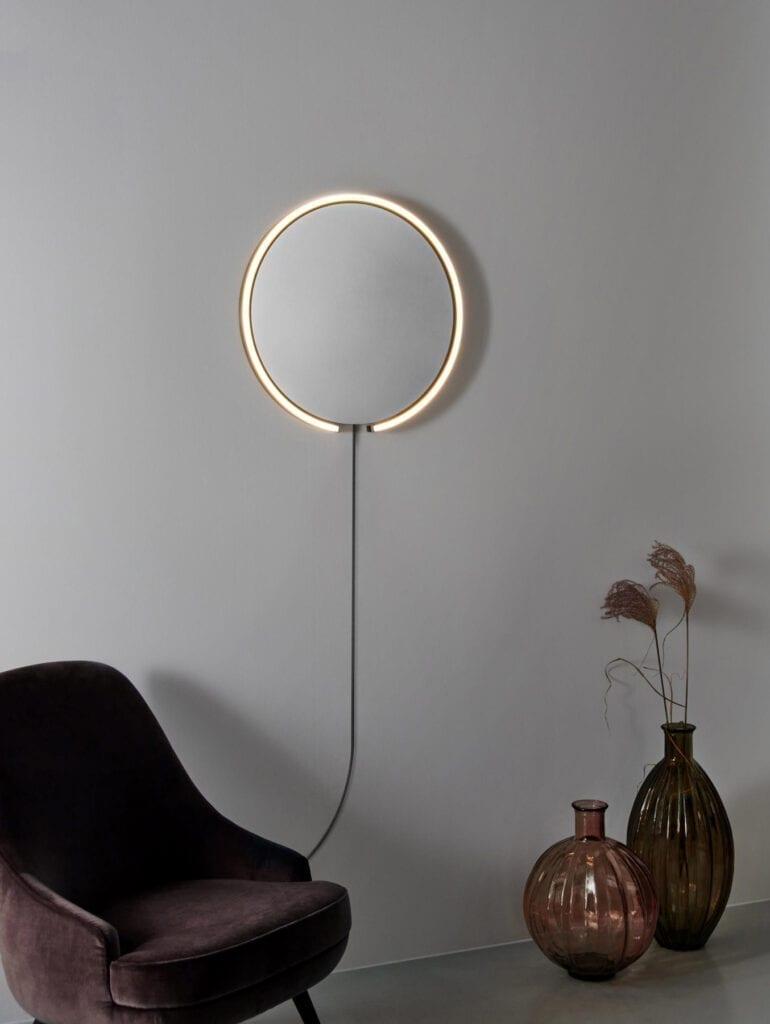 Mito sfera lys med speil fra Occhio