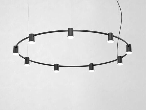 Compose Rail rund taklampe fra Zero