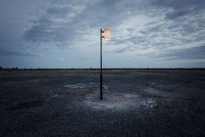 Rib Pole belysning i miljø fra Zero
