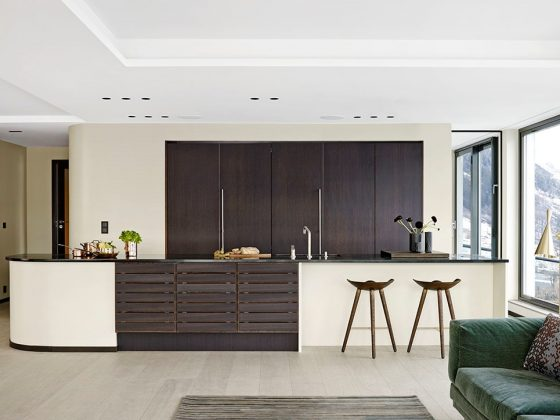 Kjøkkenbelysning i privatbolig av SML Lighting