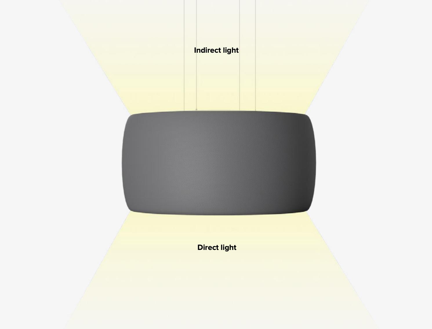 Illustrasjon av Black Hole lampe fra Intra Lighting