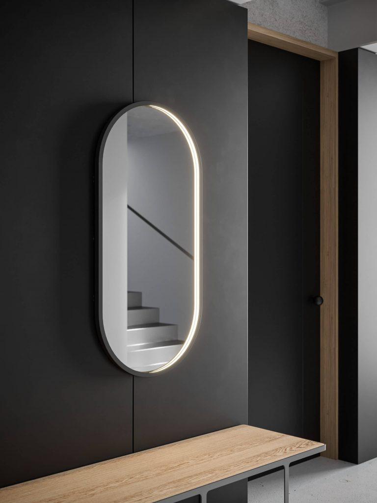Futon Mirror fra Intra Lighting i gang